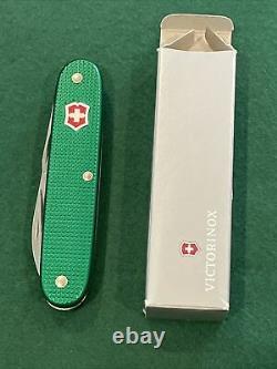 Victorinox Soldier Blade Kelly Green Swiss Bianco Alox Swiss Army Knife
