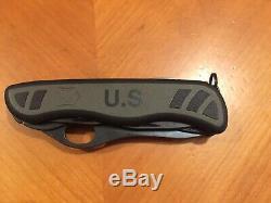 Victorinox Soldier US 2017 Swiss Army Knife. Black tools. NIB