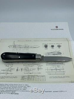 Victorinox Swiss Army 125th Anniversary Heritage Soldier Knife 1891 Limited Edt