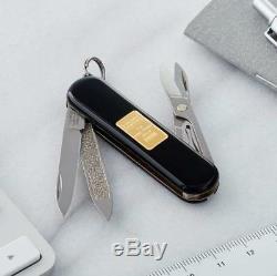Victorinox Swiss Army Classic SD Pocket Knife, Gold Ingot, 58mm