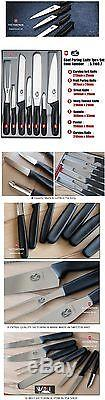 Victorinox Swiss Army Germany Steel Chef Carving Paring Knife 7pcs Set 5.1103.7