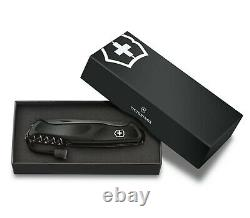 Victorinox Swiss Army Knife 130mm Ranger Grip 55 Onyx Black Gift Box 0.9563. C31P
