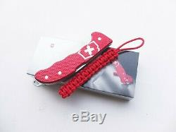 Victorinox Swiss Army Knife 136mm Hunter Pro Red Alox With Clip 0.9415.20