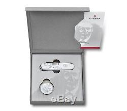 Victorinox Swiss Army Knife 2018 Karl Elsener Commemorative Coin Set 1.1918. J18