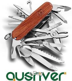 Victorinox Swiss Army Knife 30-in-1 SwissChamp 31 Hardwood 1.6794.69 220g