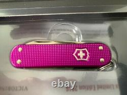 Victorinox Swiss Army Knife 58MM 2016 Orchid Alox Limited Edition