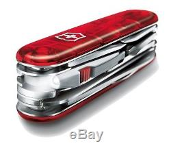 Victorinox Swiss Army Knife 91mm LED Light CyberTool Lite Red 1.7925. T