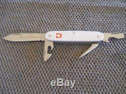 Victorinox Swiss Army Knife 93mm siver alox with charles elsener engraving