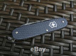 Victorinox Swiss Army Knife Alox Cadet Clariant Grey 84mm