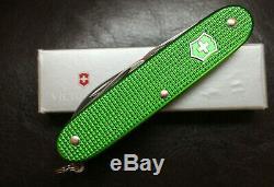 Victorinox Swiss Army Knife Alox Pioneer Apple Green NIB SMS