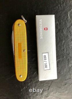 Victorinox Swiss Army Knife Bicolor Alox Farmer special edition 03/100 Messer