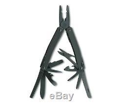 Victorinox Swiss Army Knife Black Swisstool Spirit XBS 3.0224.3CN-O/B
