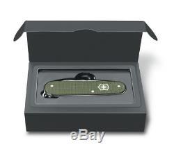 Victorinox Swiss Army Knife CLASSIC PIONEER CADET OLIVE GREEN ALOX LTD ED'17