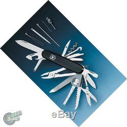 Victorinox Swiss Army Knife Champ SwissChamp Black + 4.0481.3 05712