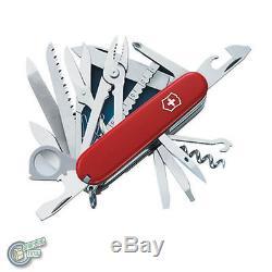 Victorinox Swiss Army Knife Champ SwissChamp Red + 4.0481.3 05712