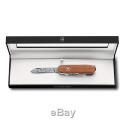 Victorinox Swiss Army Knife Deluxe Tinker Damast Limited Edition 2018 1.4721. J18