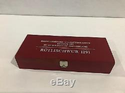Victorinox Swiss Army Knife Limited Edition 1991 RUTLISCHWUR 1291