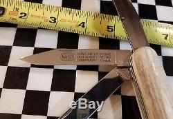 Victorinox Swiss Army Knife Mauser custom bone handle