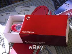 Victorinox Swiss Army Knife Red Roman Supertimer Swisschamp pristine great box
