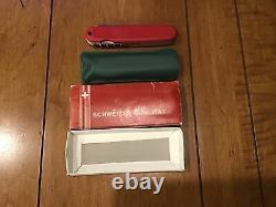 Victorinox Swiss Army Knife Red Safari New In Box