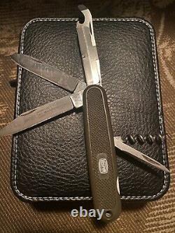 Victorinox Swiss Army Knife SAK Mauser Rare Military Pocketknife
