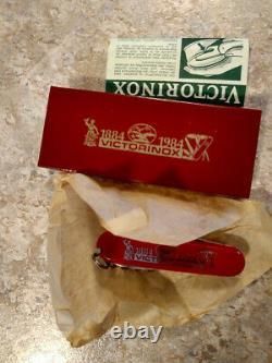 Victorinox Swiss Army Knife Spartan 100th Anniversary 1884-1984 NEW OLD STOCK