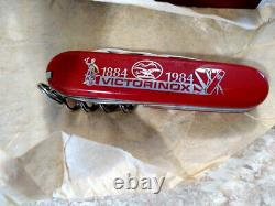 Victorinox Swiss Army Knife Spartan 100th Anniversary 1884-1984 NEW OLD STOCK