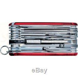 Victorinox Swiss Army Knife Swiss Champ Ruby Red XAVT 53509
