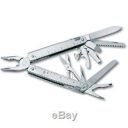 Victorinox Swiss Army Knife, Swiss Tool X, With Black Nylon Pouch