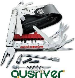Victorinox Swiss Army Knife SwissTool Plus 3.0338. L 39-in-1 Pocket Tool Box