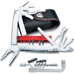 Victorinox Swiss Army Knife SwissTool Spirit Plus Multi-Tool with Nylon Pouch