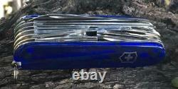 Victorinox Swiss Army Knife, Swisschamp, Sapphire, Victorinox 53507, New In Box