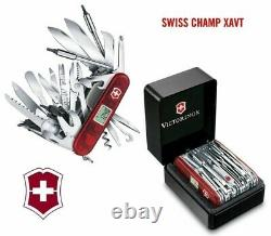 Victorinox Swiss Army Knife, Swisschamp XAVT, Ruby Red, 1.6795. XAVT, New In Box