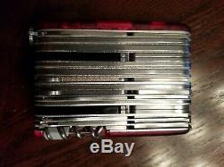 Victorinox Swiss Army Knife Swisschamp XAVT Ruby Red 1.6795. XAVT Pocketknife NEW