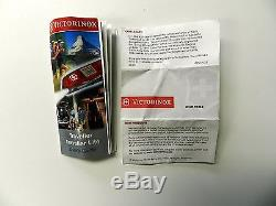 Victorinox Swiss Army Knife, Swisschamp XAVT, Ruby Red Knife # 53509, New In Box