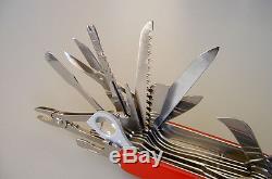 Victorinox Swiss Army Knife Swisschamp XL (not XLT) pristine extremely rare