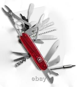 Victorinox Swiss Army Knife, Swisschamp XLT, Ruby Red, Knive 53504, New In Box