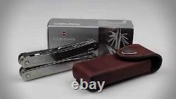 Victorinox Swiss Army Knife Swisstool Spirit, With Leather Pouch 53800, NIB