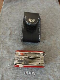 Victorinox Swiss Army Multi-Tool Evolution S54 Toolchest Plus Pocket Knife, Red
