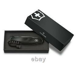 Victorinox Swiss Army Pocket Knife Ranger Grip 55 Onyx Black 130mm 0.9563. C31P