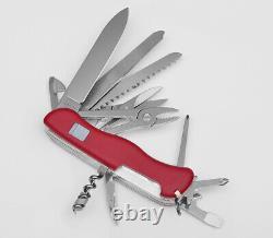 Victorinox Swiss Army Pocket Knife Workchamp Red 111mm Slide Lock 0.9064