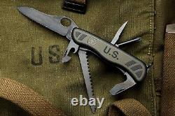 Victorinox Swiss Army US Soldier Combat Knife NEW