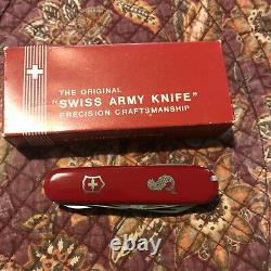 Victorinox Swiss army the fisherman vintage knife Early Version