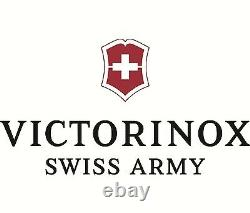 Victorinox SwissChamp / BLACK Swiss Army Knife With Leather Clip Pouch NEW