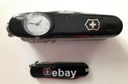 Victorinox Swisschamp Supertimer Duo Knife Set Rare Swiss Army Watch Pocket