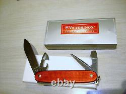 Victorinox Switzerland Stainless Rostfrei Red Alox Sturdy Boy Swiss Army Knife