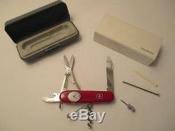 Victorinox Time Keeper Swiss Army Knife With Watch Timekeeper Discontinued Rare