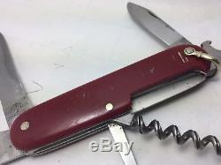Victorinox Victoria SPARTAN Swiss Army Knife Golden Crest & Bail Rare Vintage