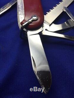Victorinox Victoria Woodsman 1960 Year Swiss Army Knife