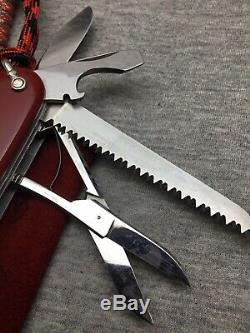 Victorinox Victoria Woodsman 1960 Year Swiss Army Knife 91 mm